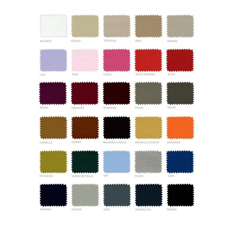 Colores canapé tapizado