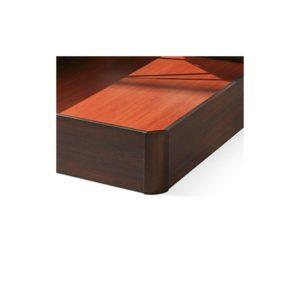 Canapé de madera New Alan al suelo gran capacidad