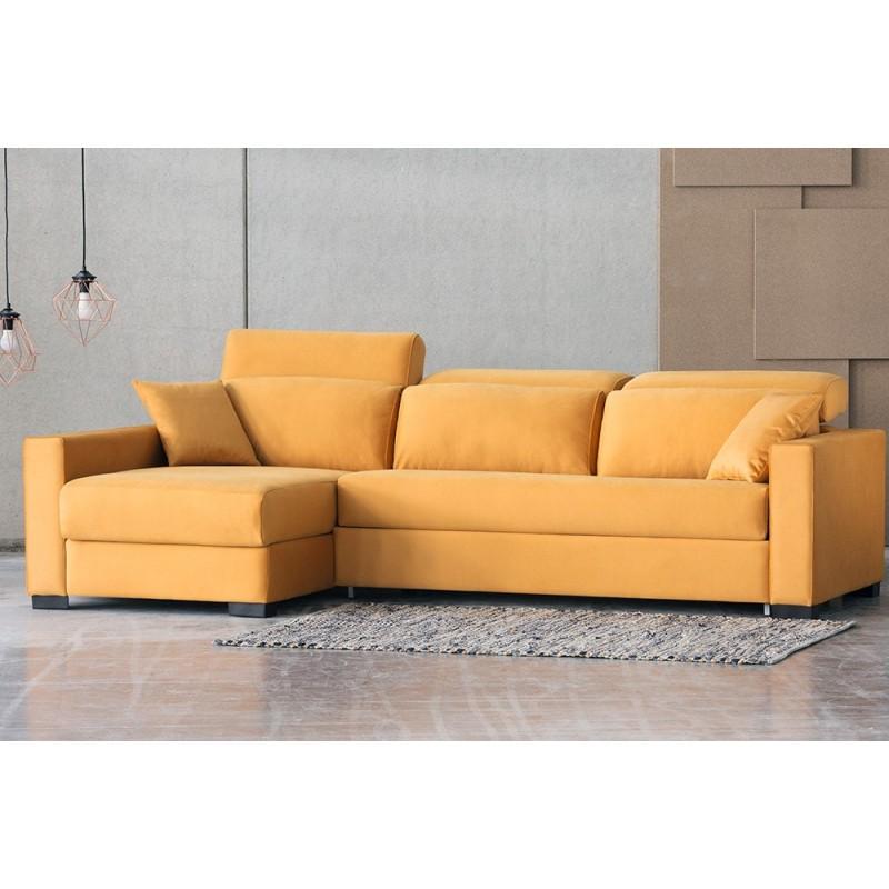 Sofá cama chaise longue Rosana apertura italiana