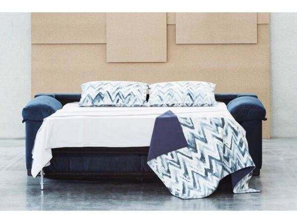 Sofá cama Jessica de apertura italiana colchón 12 o 16 cm