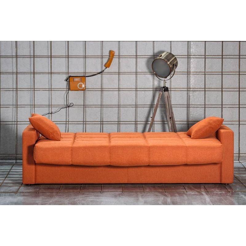 sofá cama clic clac Nicol tela savana colores suave y antimanchas