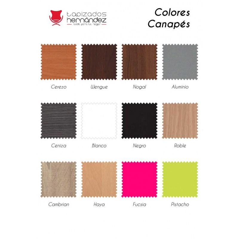 Colores madera Canapés