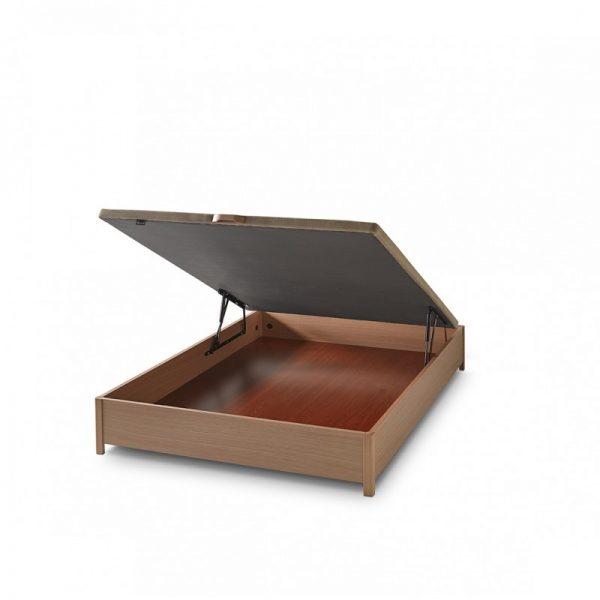 Canapé abatible de madera Monet con patas