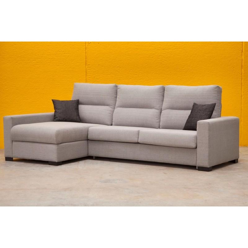 Sofa cama chaise longue Legos apertura italiana
