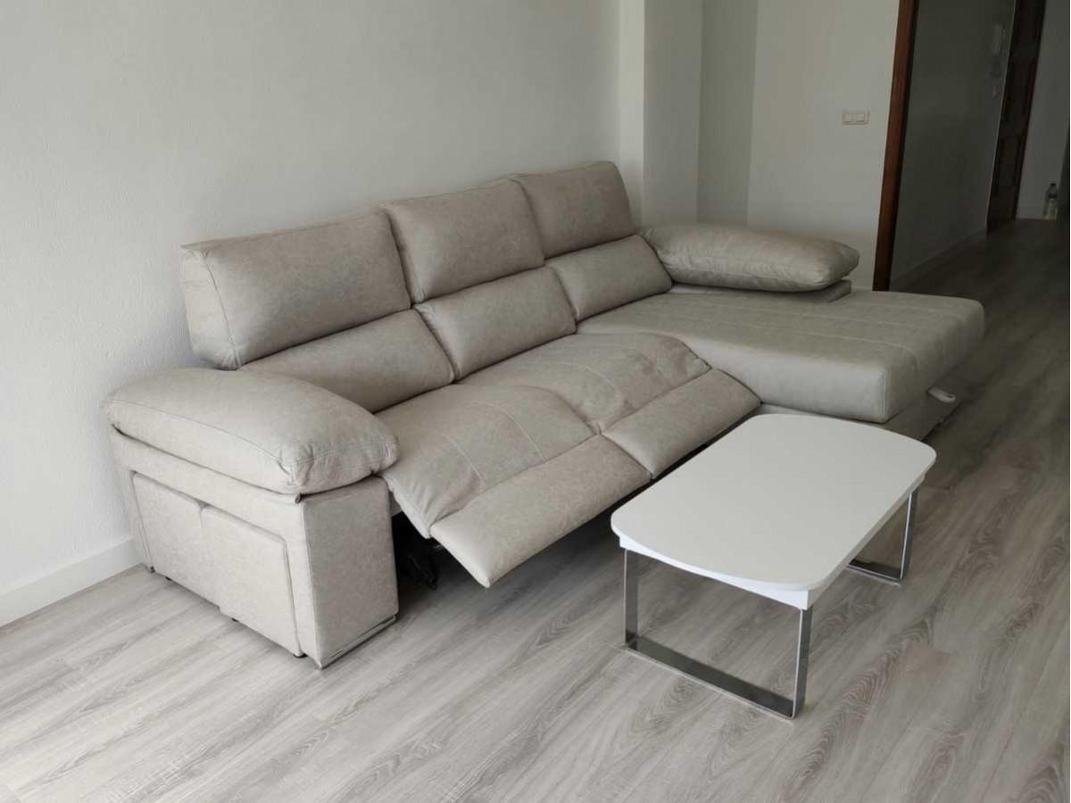 Chaise longue Relax Prada artemisa plata