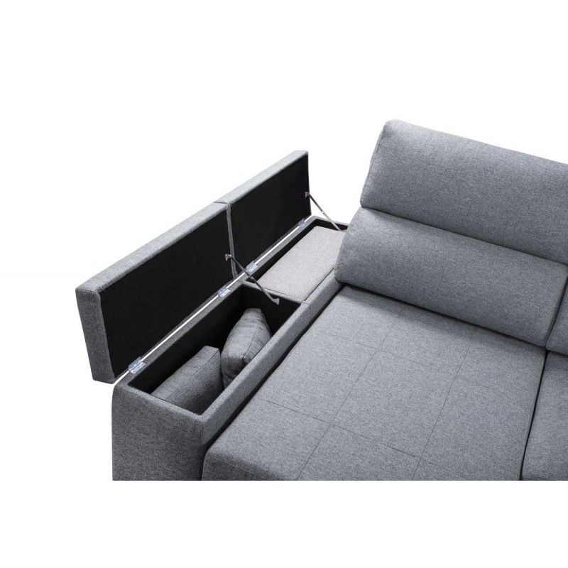 Chaiselongue Boom doble arcón en brazo chaise