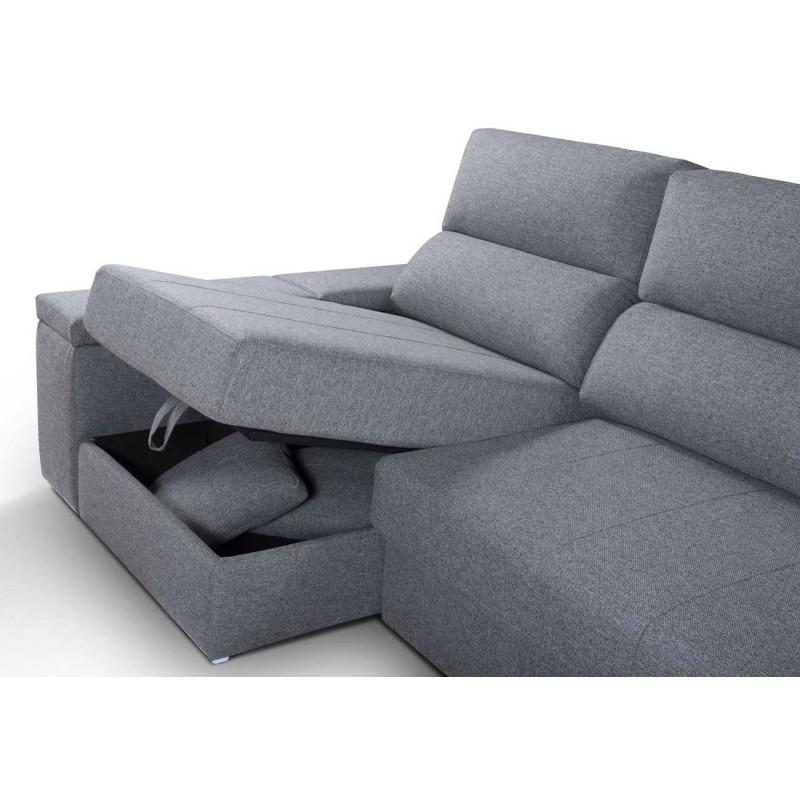 Chaiselongue Boom con arcón en chaise