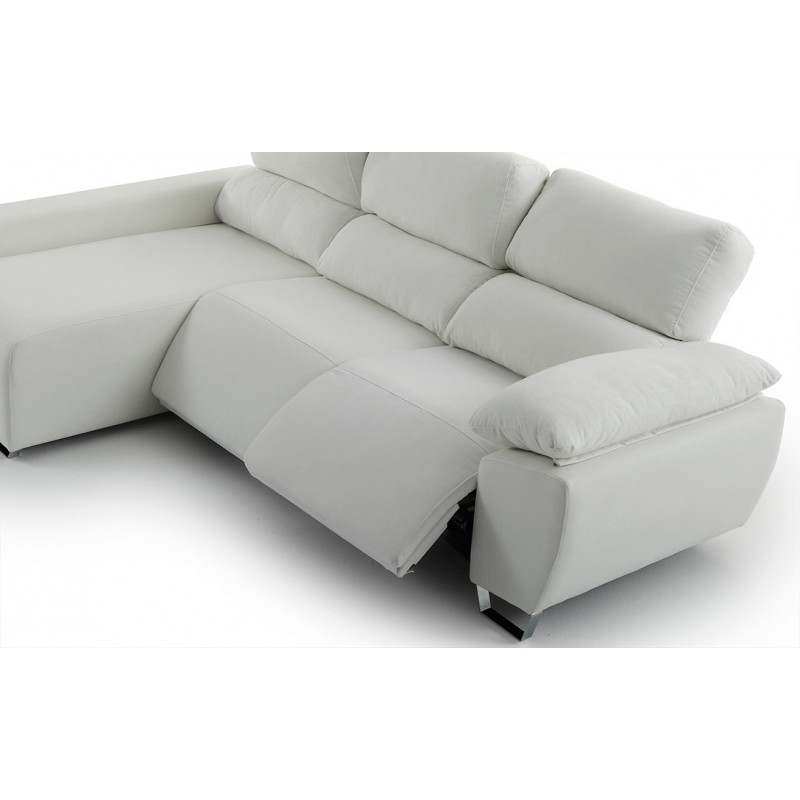 Sofá Chaise Longue Relax motor y brazo siesta