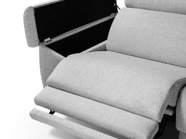 Chaise longue relax Colonia brazo modulo arcón
