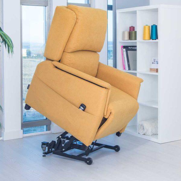 sillon relax Merino elevador y ruedas