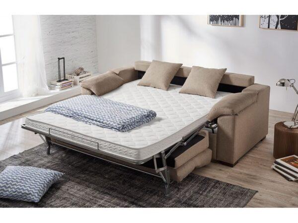 Sofá cama apertura italiana Legos colchón 12 y 16 cm