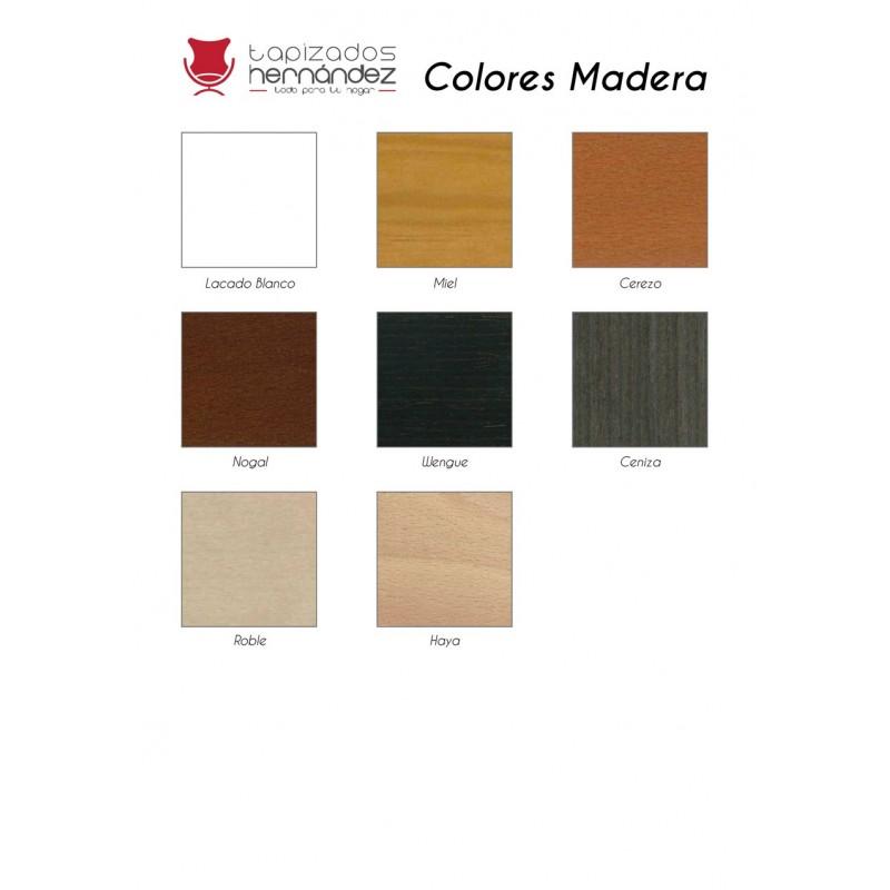 Mesa de centro fija colores madera