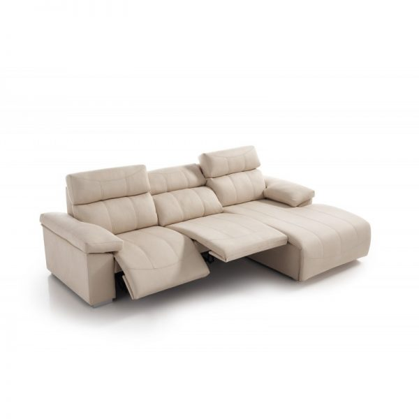 Sofá Chaise Longue Cares asientos motorizados