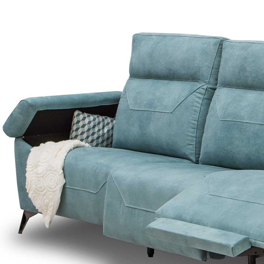 chaiselongue cares brazo arcón