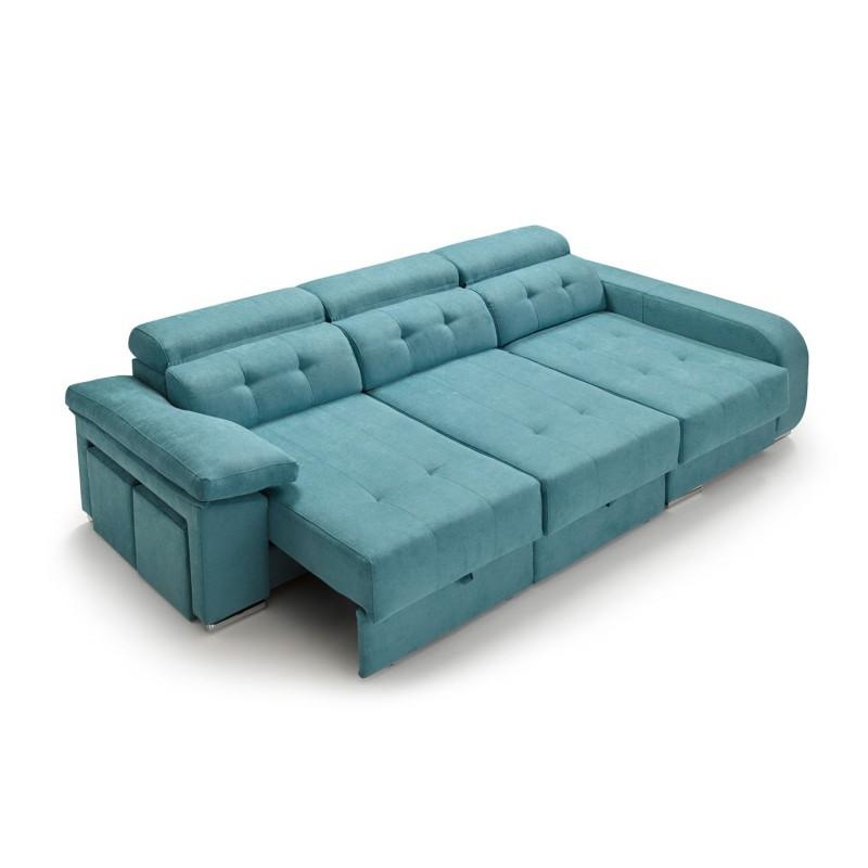 Sofá Chaise Longue Natura asientos deslizantes