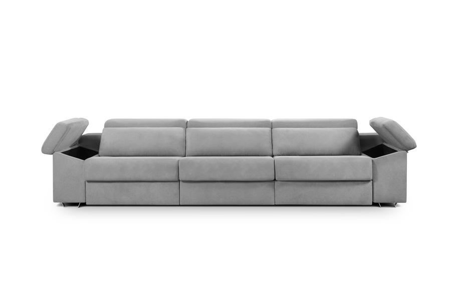 chaise longue deslizante cama Natura brazo arcon