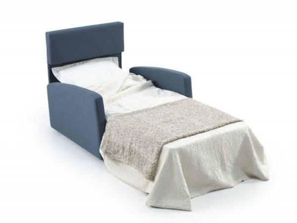 Sillón cama Dona 80x190 apertura italiana
