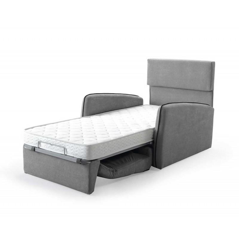 Sillón cama Suno 80x190 apertura italiana