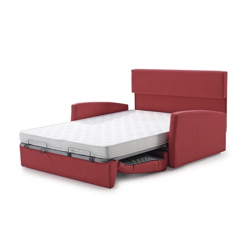 Sofa cama Dona dimensiones reducidas (160 cm ancho) cama 140x190