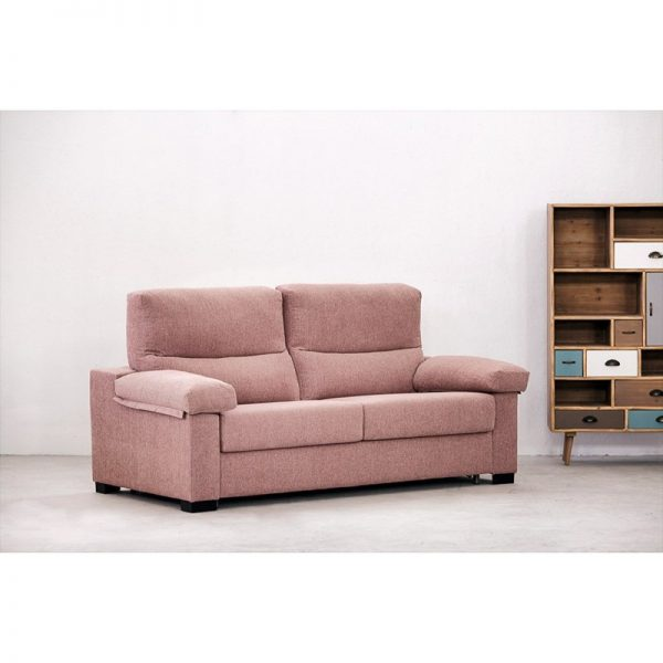 Sofá cama Eden de apertura italiana colchón 12 o 16 cm
