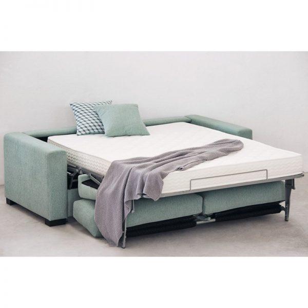 Sofá cama Nora de apertura italiana colchón 12 o 16 cm