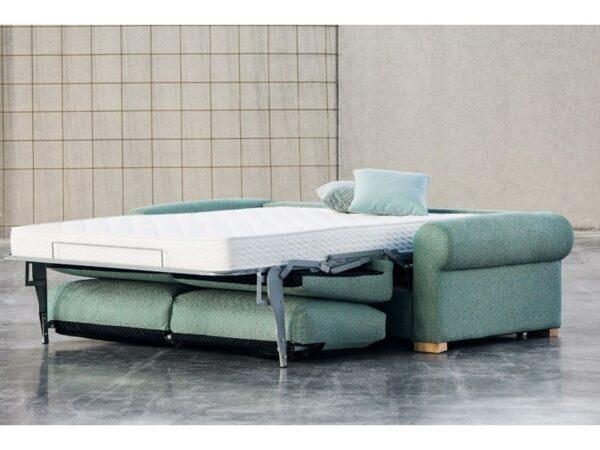 Sofá cama RITA de apertura italiana brazo redondeado