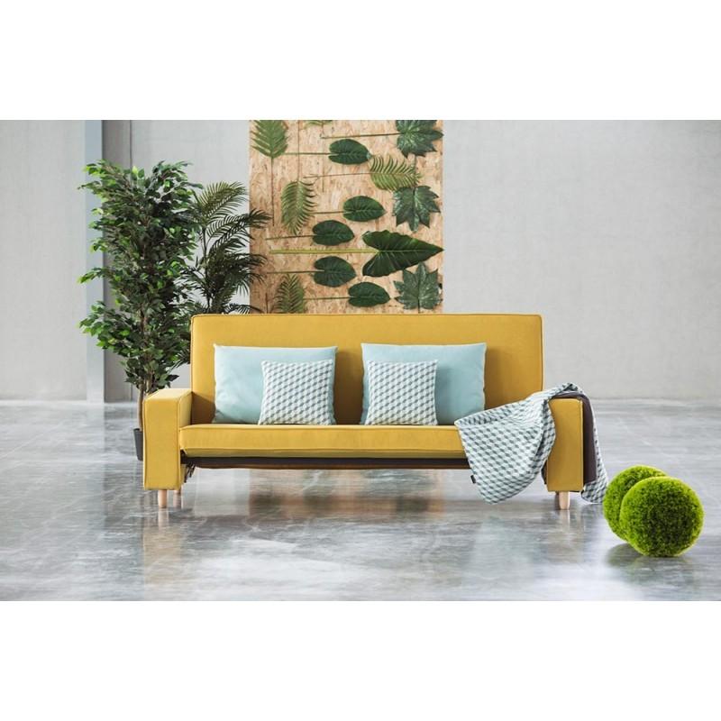 sofá cama clic clac Valentina tela savana colores suave y antimanchas