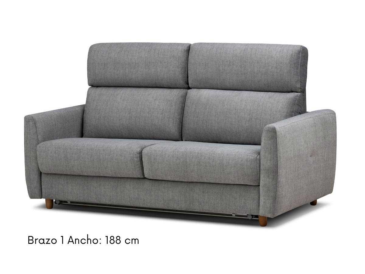 sofa cama apertura italiana eden 188 cm