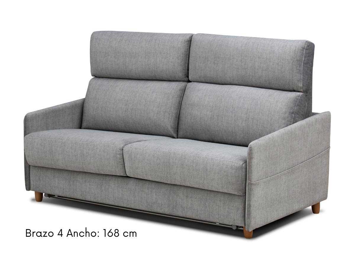 sofa cama apertura italiana eden 168 cm