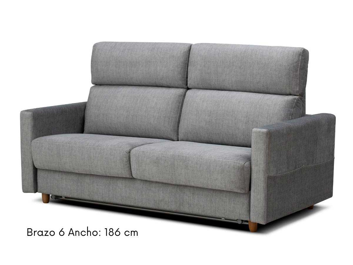 sofa cama apertura italiana eden 186 cm