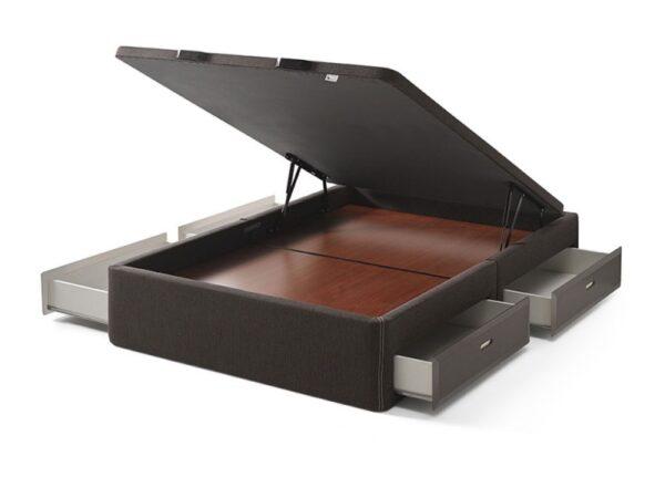 Canapé abatible con 4 cajones y mini arcón Espace