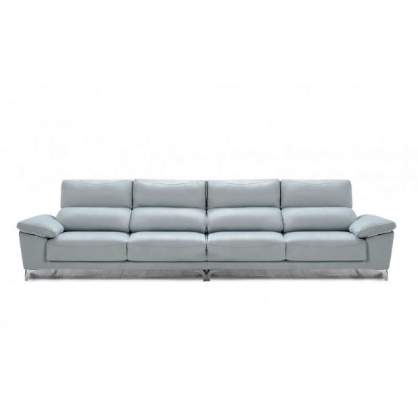 Sofá 3 plazas asientos extraibles y cabezal abatible