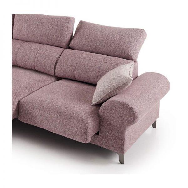 Sofá 2 y 3 plazas asientos extraibles y cabezal abatible Sella