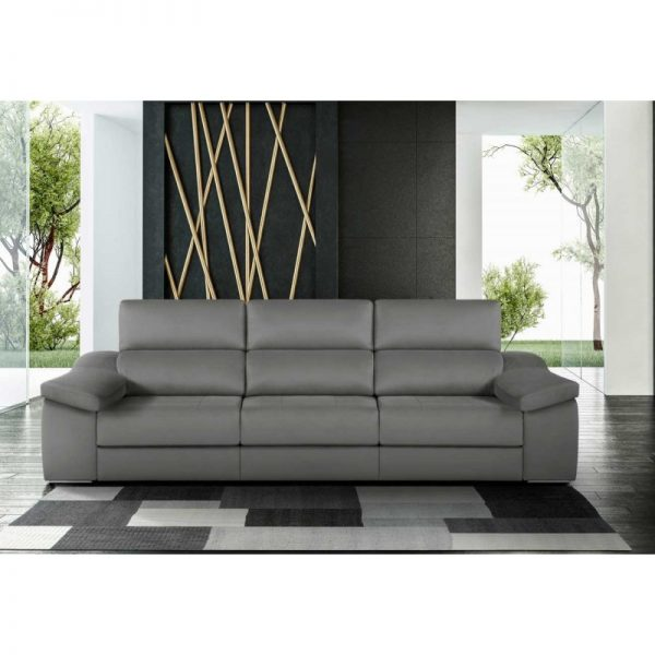 Sofá Venecia asientos gran extraíble, usable como cama