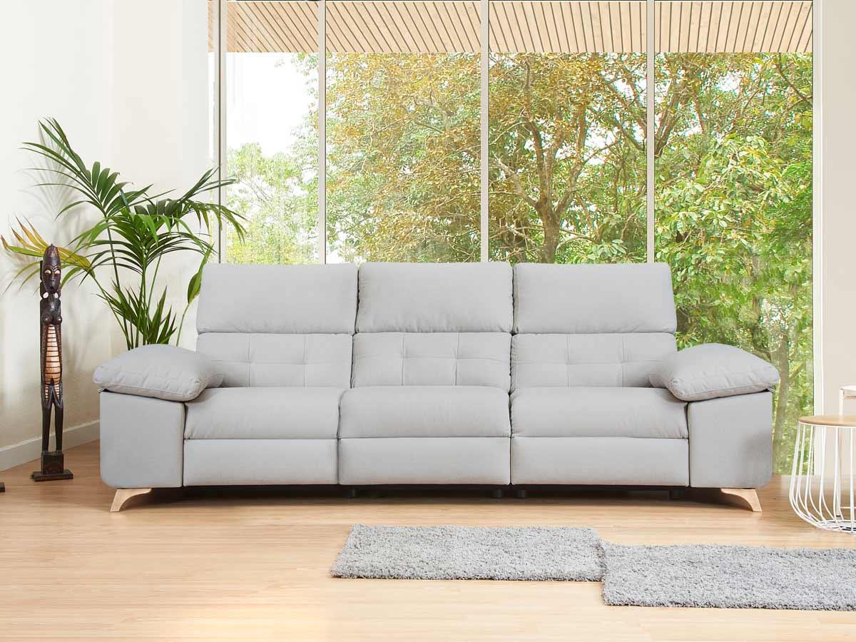 sofá relax atenas patas de madera