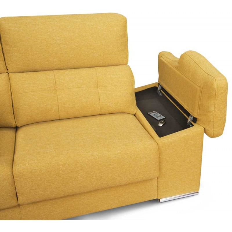 Chaise Longue Kiev arcon en brazo del sofá