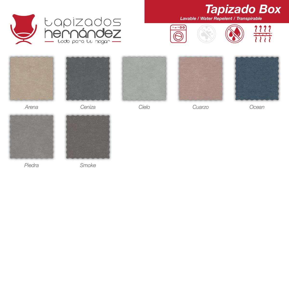 tela box antimanchas