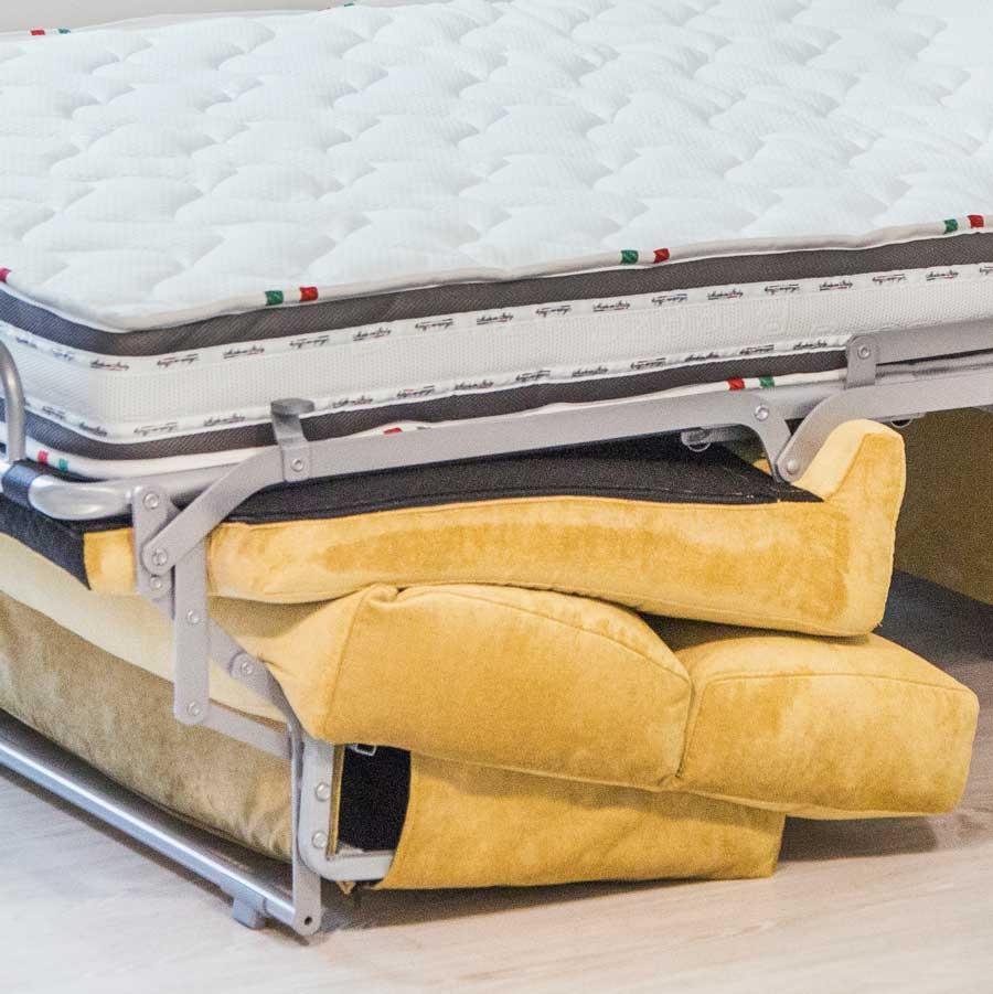 sistema italiano sofá cama Mauro