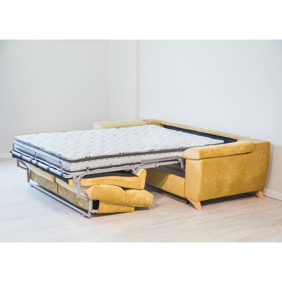 sofá cama Mauro colchón 16