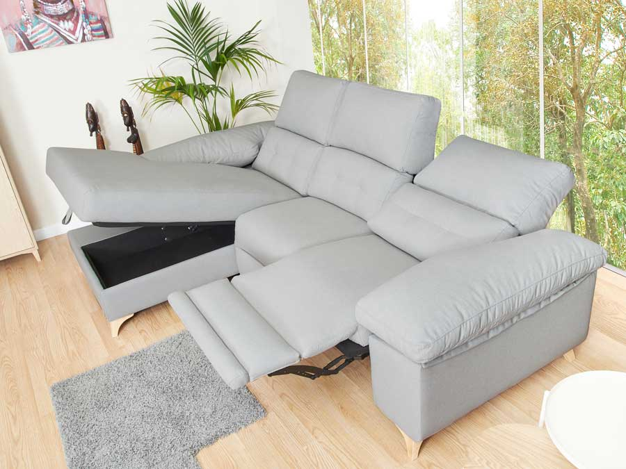 chaise longue relax Atenas madera y arcon
