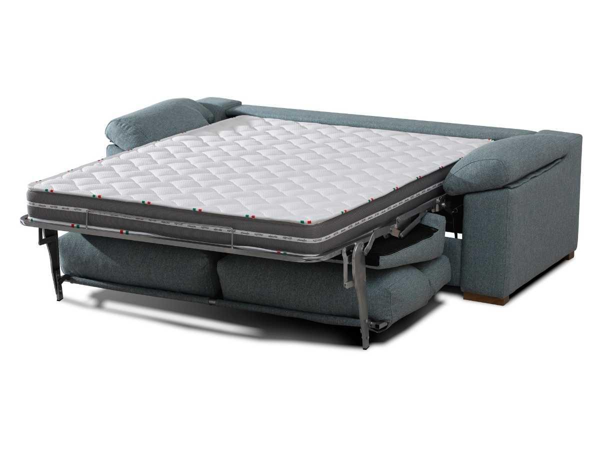 Sofa cama de apertura italiana Paula abierto