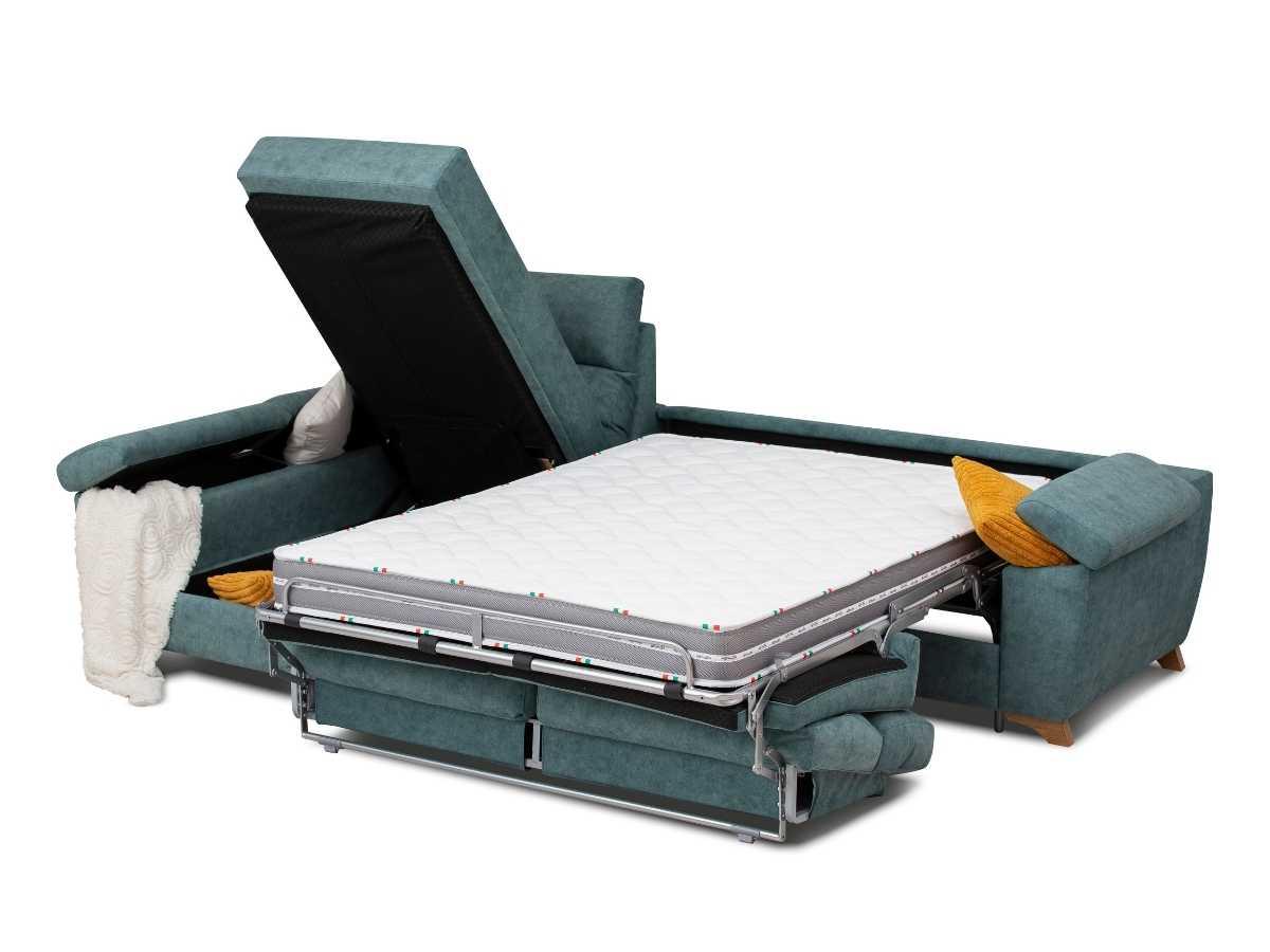 Chaiselongue cama Mauro abierto