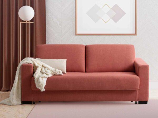 Sofa cama de apertura italiana Elena en salon