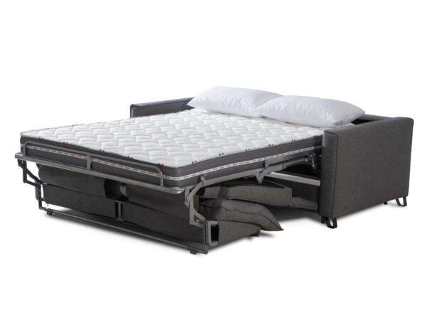 Sofa cama de apertura italiana Ella abierto