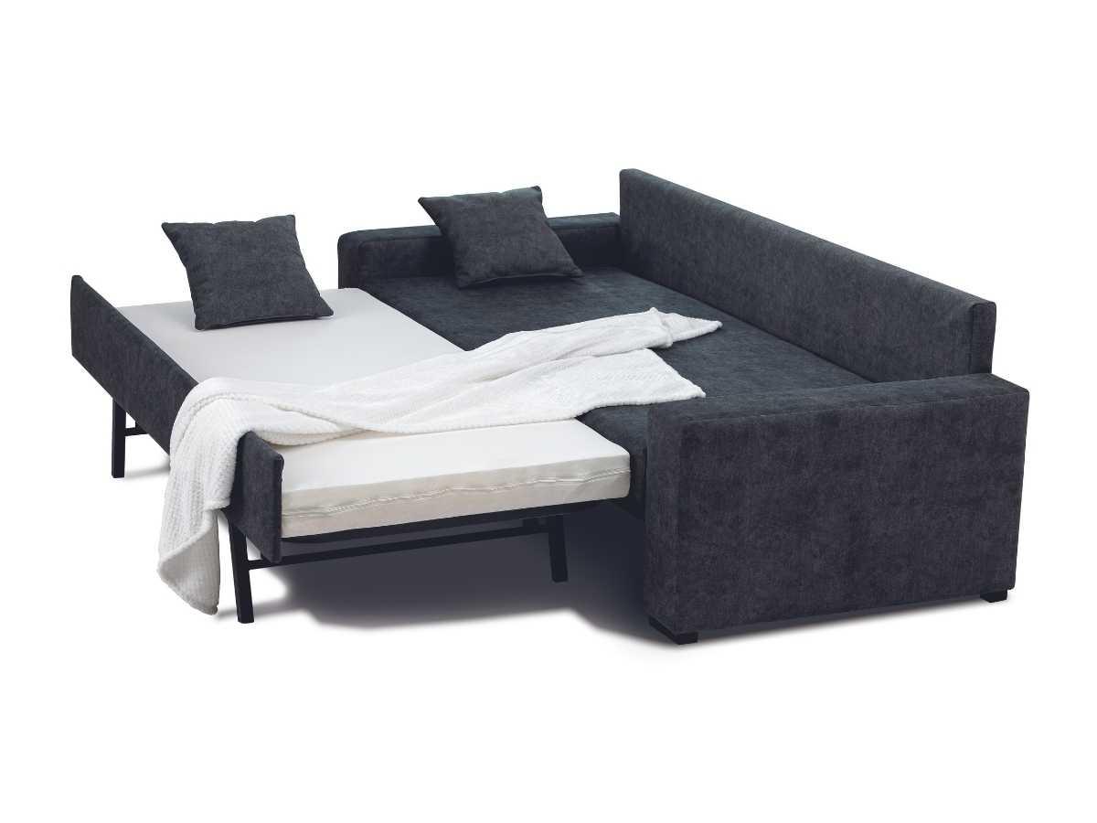 Sofa cama extensible Hebe abierto