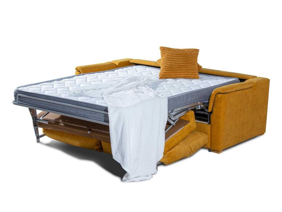 Sofa cama de apertura italiana Marga abierto