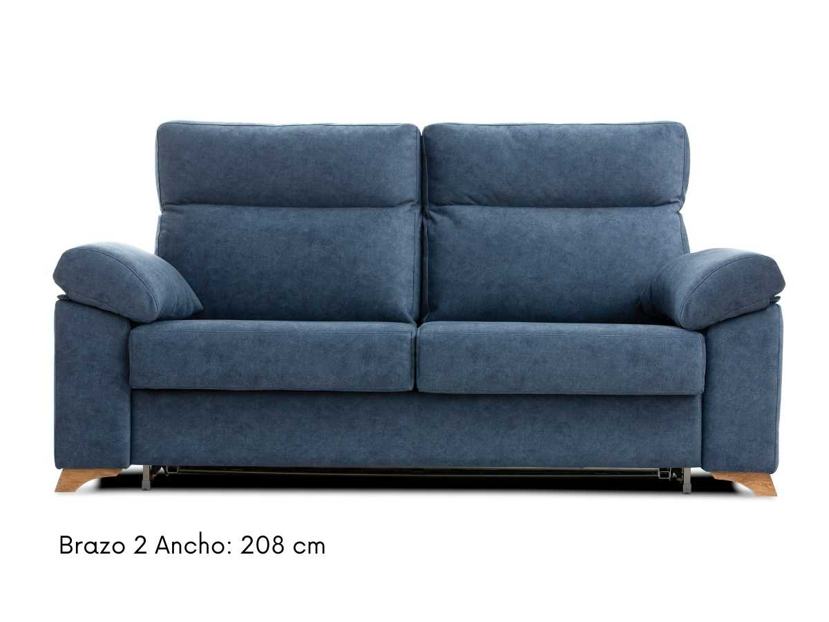 Sofa cama de apertura italiana Nora