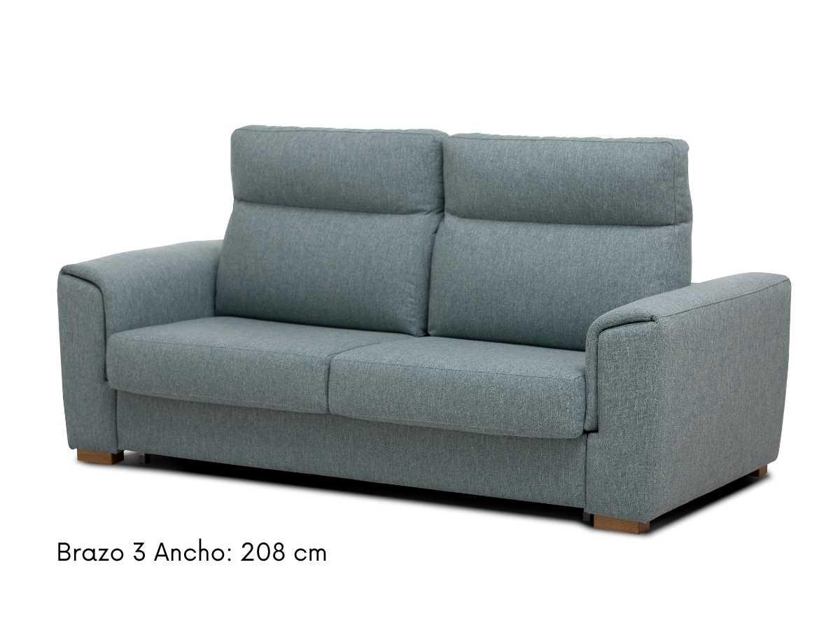 Sofa cama moderno Paula de Tapizados Hernandez