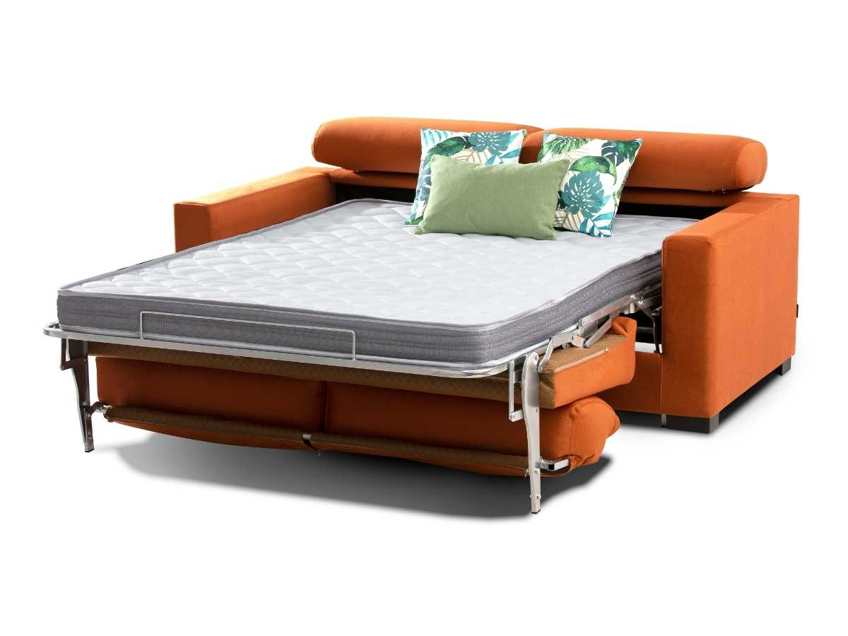 Sofa cama de apertura italiana Rosana abierto