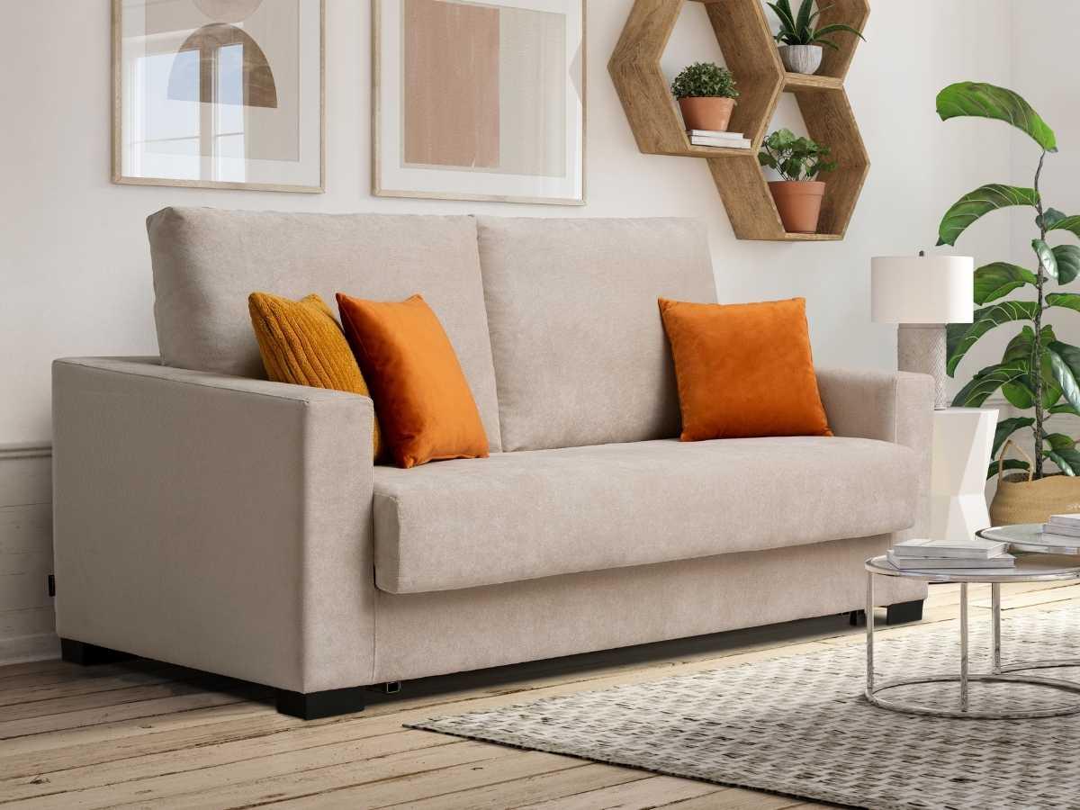 Sofa cama de apertura italiana Seven de Tapizados Hernandez